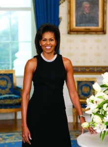 First Lady Michelle Obama, courtesy White House