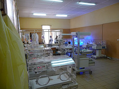 Neonatal unit in CHUK