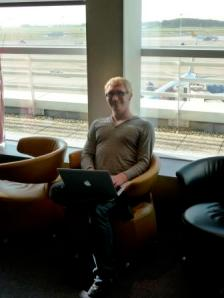 Will Roper in the Brussels Airport